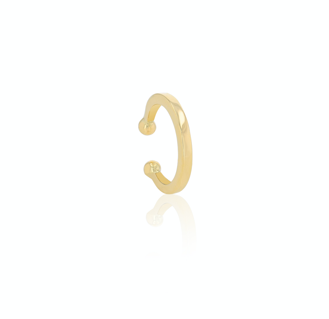 Gold band Earcuff