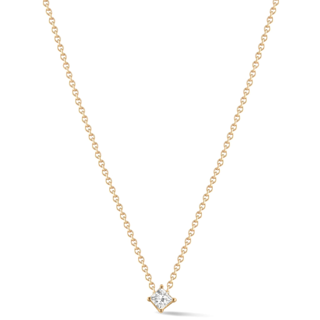 Shape of you - Princess Diamond Necklace