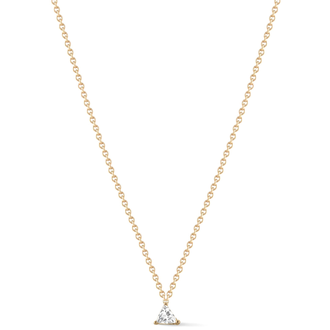 Shape of you - Triangle Diamond Necklace