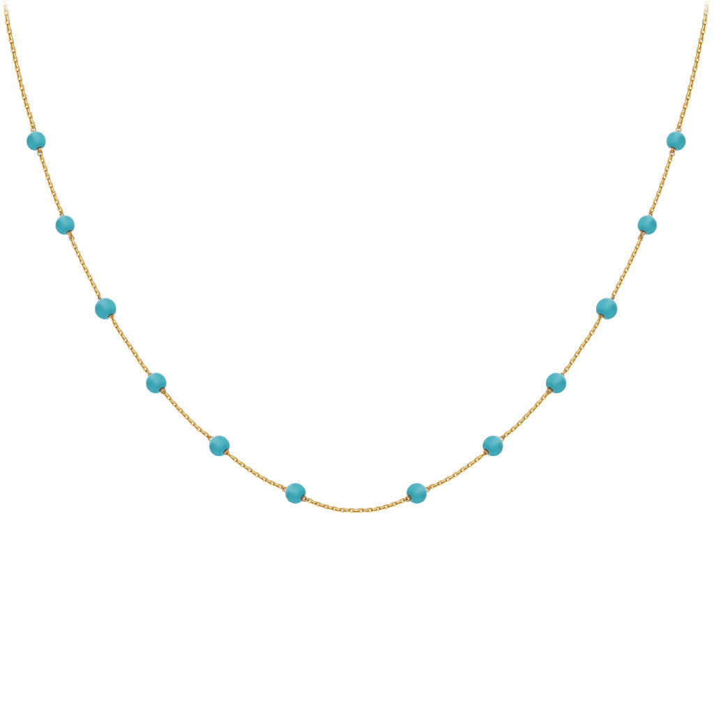 Something Blue - Turquoise Necklace