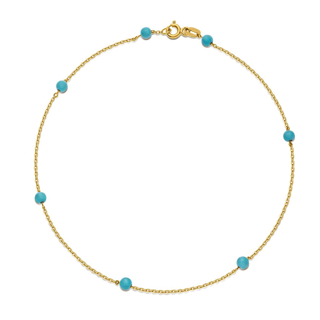 Something Blue - Turquoise bracelet
