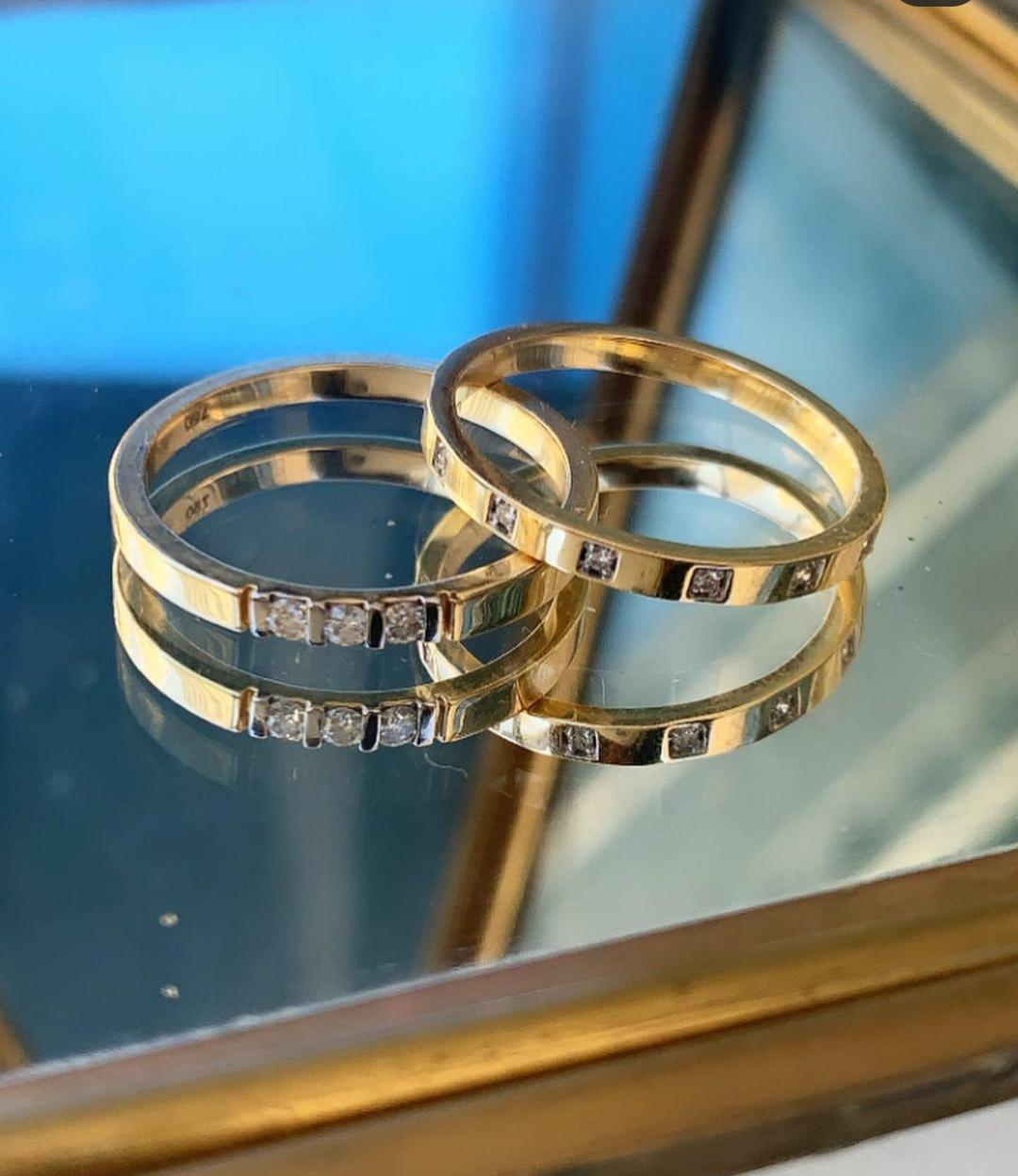 Stackable Ring (3 Diamonds)