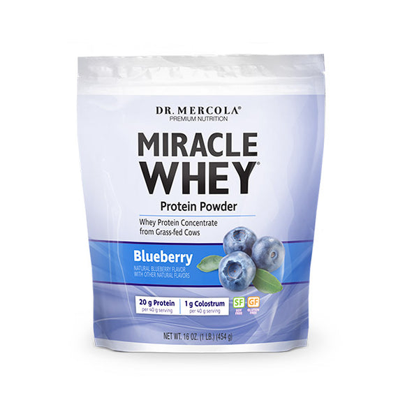 Miracle Whey Protein Powder- Blueberry