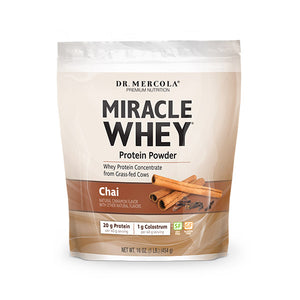 Miracle Whey Protein Powder- Chai