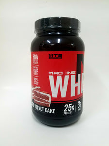 MTS Nutrition Machine Whey- Red Velvet Cake