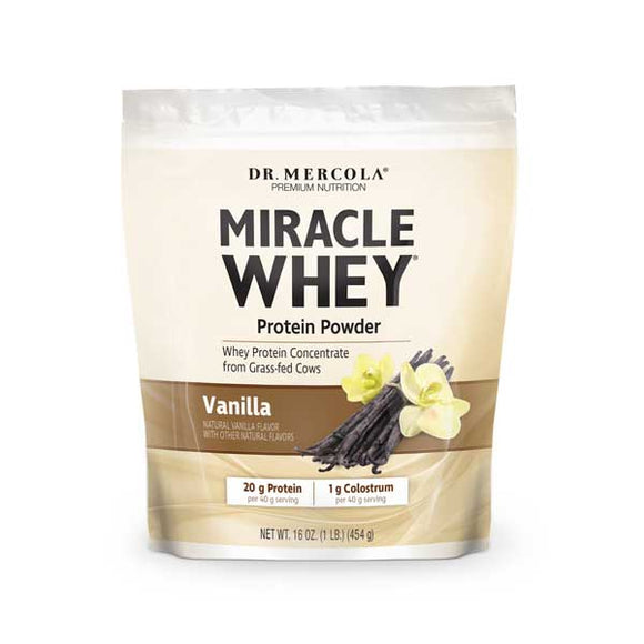 Miracle Whey Protein Powder-Vanilla