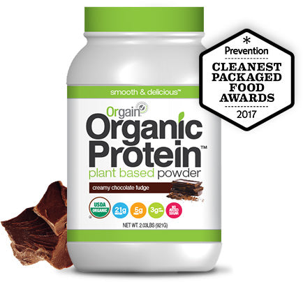 Organic Protein Powder - Creamy Chocolate Fudge