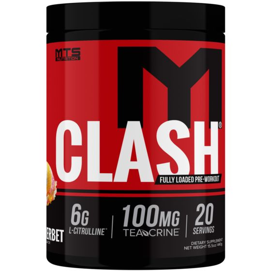 MTS Nutrition Clash- Rainbow Sherbet