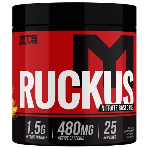 MTS Nutrition Ruckus Preworkout- Pineapple