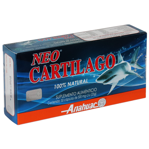 CAPS. NEO CARTILAGO C/50 AZUL