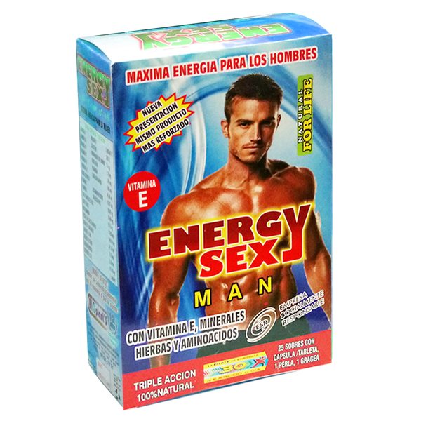 ENERGY SEX MAN C/25 SOB.