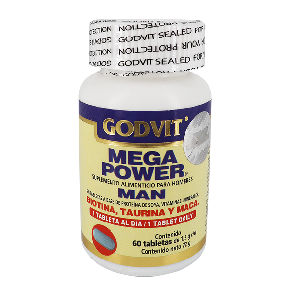 GODVIT MEGA POWER MAN C/60 TBS.