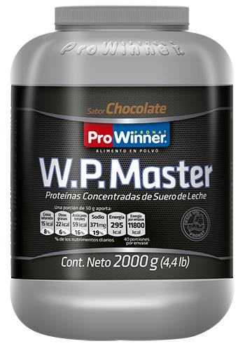 WP MASTER CHOCOLATE 2000GR.