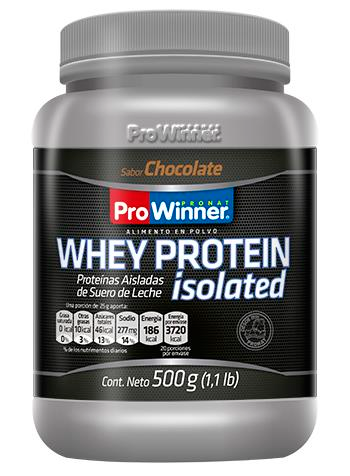 WHEY PROTEIN ISOLATE CHOCOLATE 500 GR.