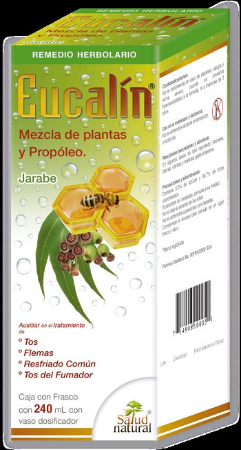 JARABE EUCALIN 240 ML. S.N.