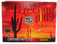 CREMA ERECTION PLUS 21GR C/7 SOB. 3GR C/U