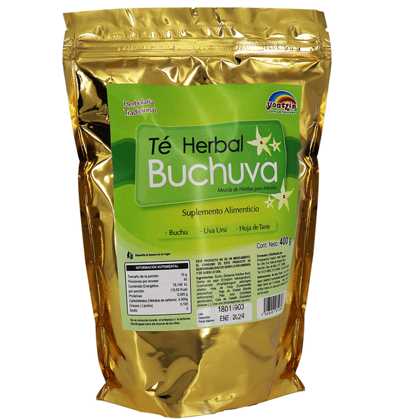 TE HERBAL BUCHUVA 400GR.