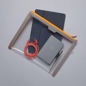 Anywhere Everywhere Portfolio Wallet - Shadow Neon Orange