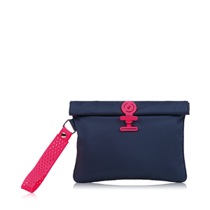 Wet Bag Large  - Midnight Neon Pink