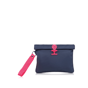 Wet Bag Small - Midnight Neon Pink