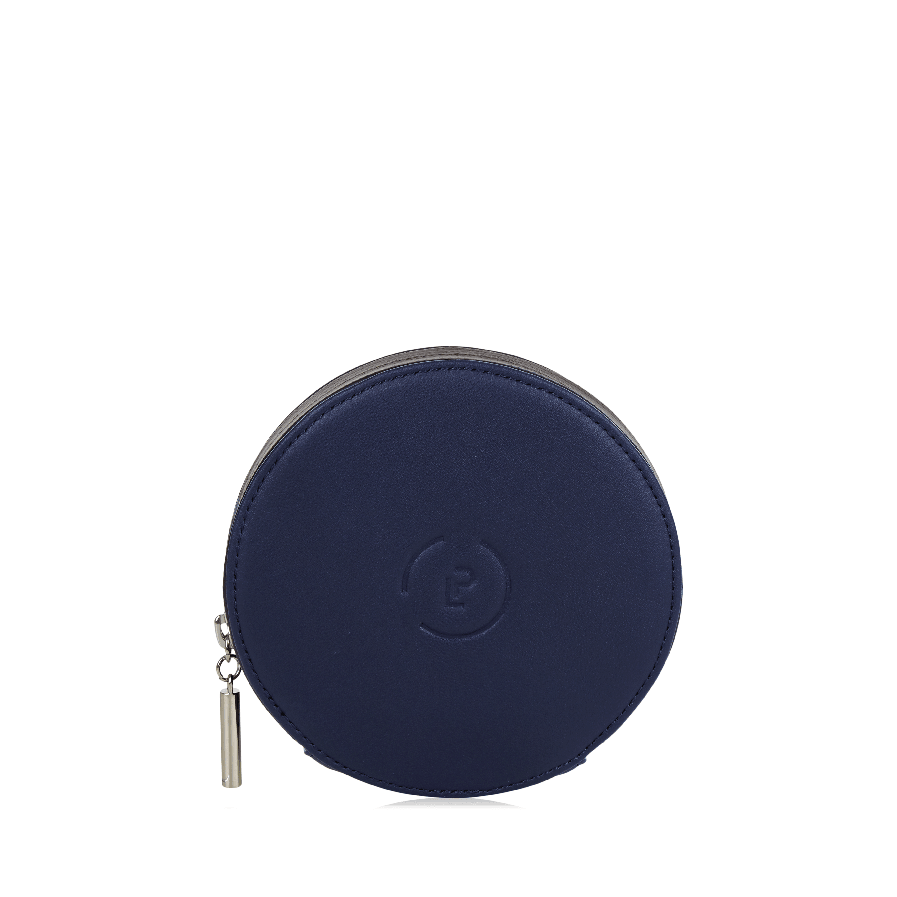 Circle Purse -Midnight Ink