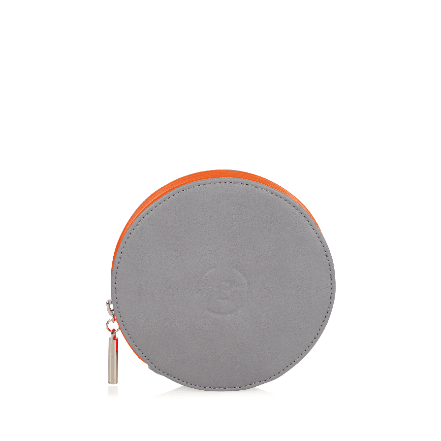 Circle Purse - Shadow Neon Orange