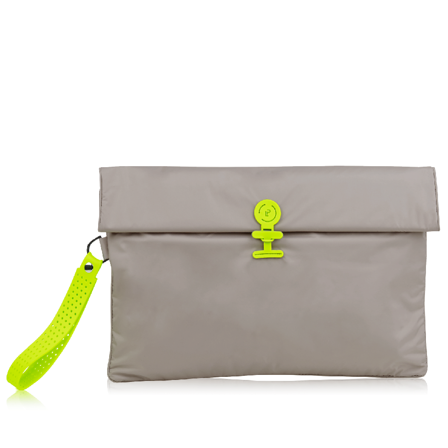 Wet Bag Maxi - Walnut Neon Green