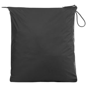 Black La Pochette Sweat Gym Kit Bag with Zip