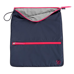 Sweat Bag - Midnight Neon Pink
