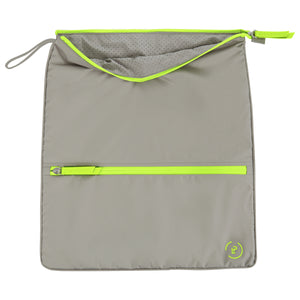 Sweat Bag - Walnut Neon Green