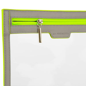 Anywhere Everywhere Wallet - Walnut Neon Green