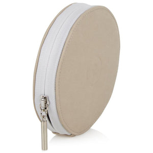 Circle Purse - Cashmere White