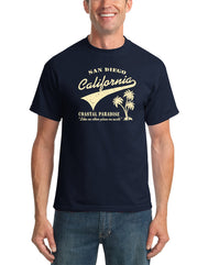 SD Coastal Paradise t-shirt