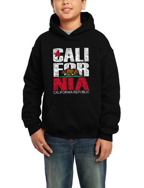 CA Flag Hooded 01OSCAL Youth