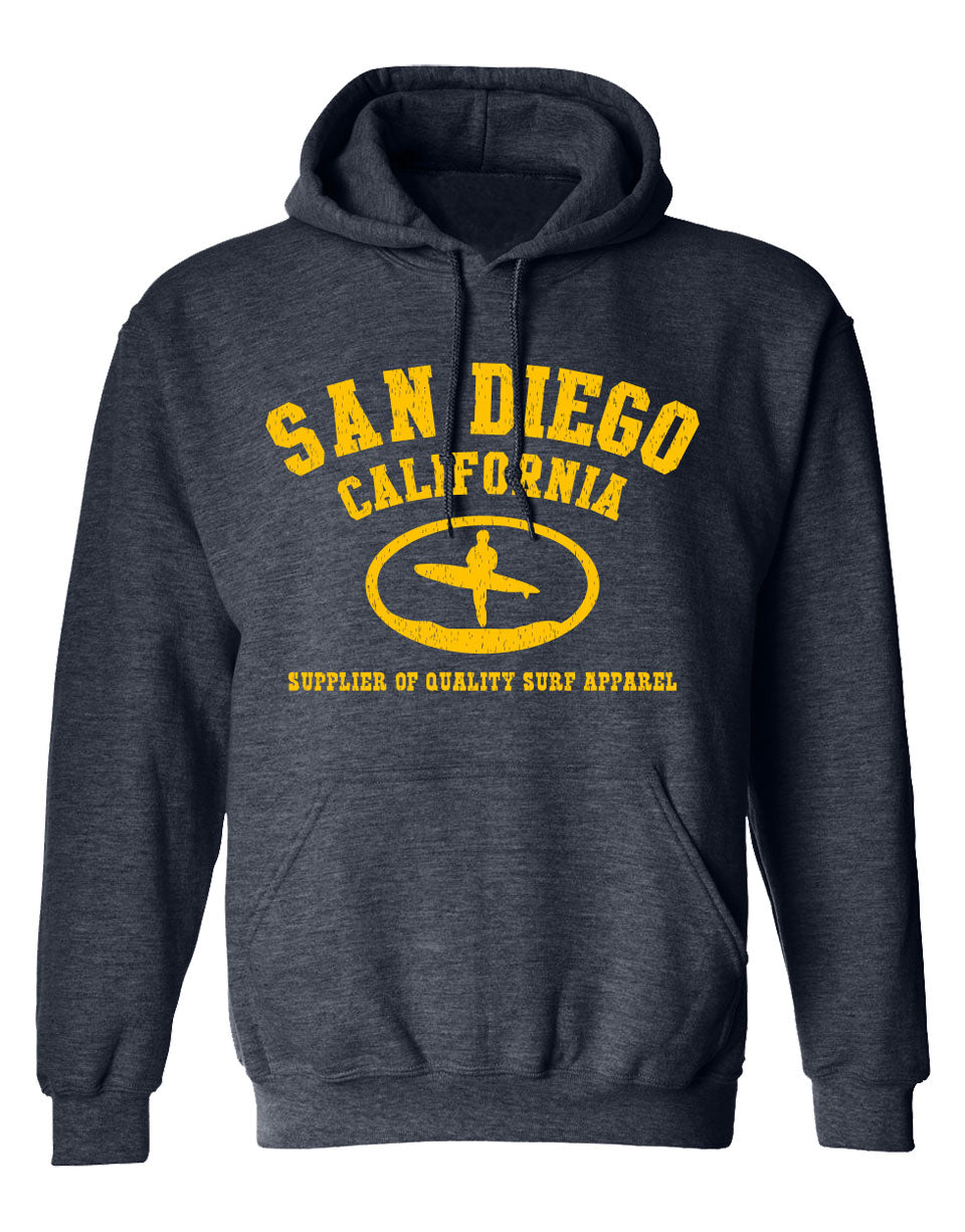 SD Surf Apparel Hooded Sweatshirt