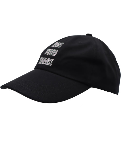 Act your wage solid black color baseball hat with an embroidered white embroidery. Dark humor message for coworkers, supervisors, friends that act rich or above their  pay grade. Adjustable Buckle clasp.