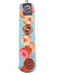 Socks : Sublimated Flying Donuts