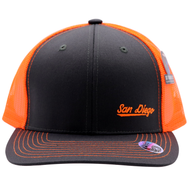 SD Neon Orange Cambridge Trucker Hat