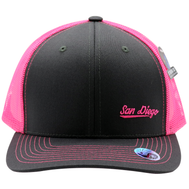 SD Neon Pink Cambridge Trucker Hat