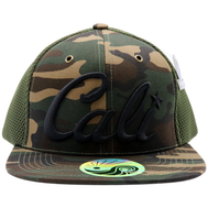 Snapback Adjustable Hat : Cali Camo