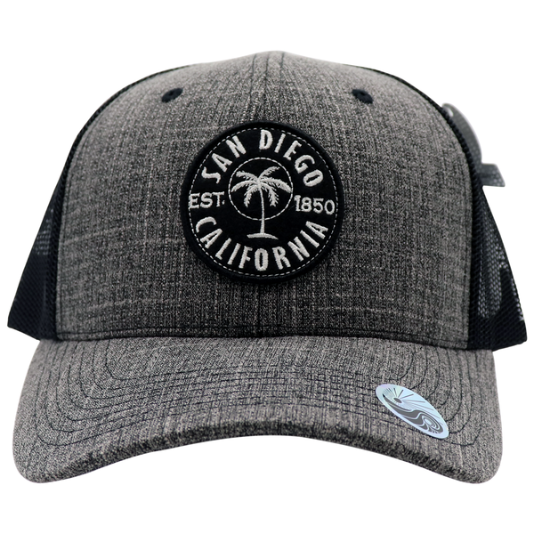 Invest Palms Embroidered Patch Trucker Hat