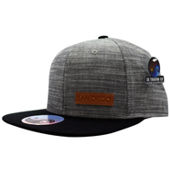 Respect SD Leather Patch snapback Hat