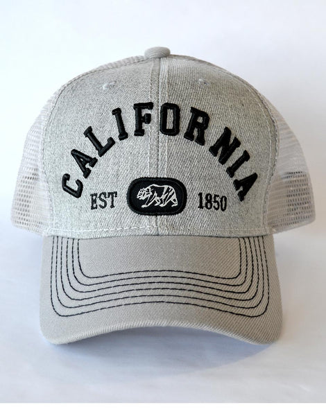 California Delux Hat- GREY
