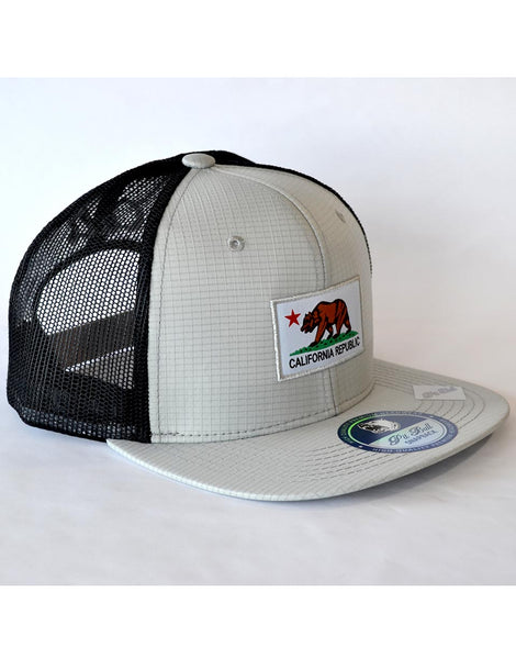 California Flag Patch Hat - Grey