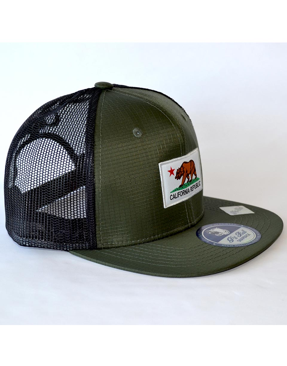 e7fe4331b ... new style california flag patch hat green 2550c 792f6