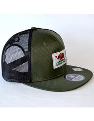 California Flag Patch Hat - Green