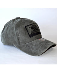 Bear Patch Pigment Hat- BLACK