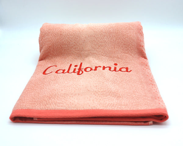 California Ombre Towel