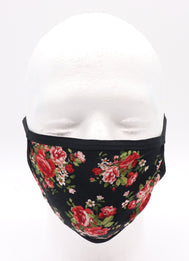 Adult Red Roses face mask. Comfortable, fashion, trendy, nice, protection, and compliant with CDC guidance.These masks are washable and reusable. Sold by SDTrading Co.