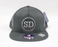 Snapback Adjustable Hat :  SD H.F. Circle Path Baseball Cap